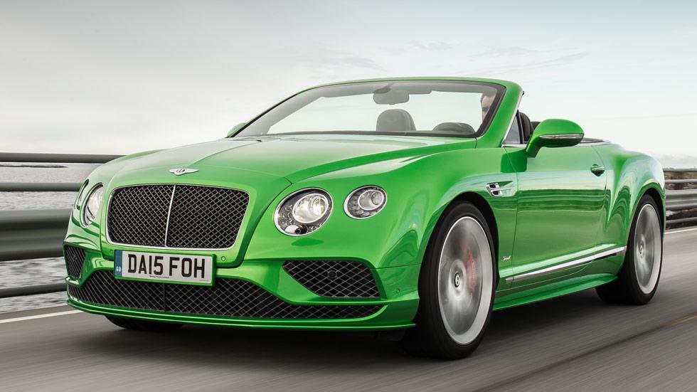 Primera Prueba Bentley Continental 2016 Clásico Actualizado