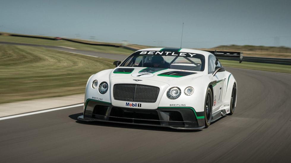 Bentley Continental GT3, 608 CV para la bestia británica de carreras