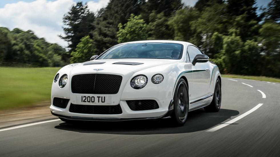 Bentley Continental GT3-R, genes de circuito