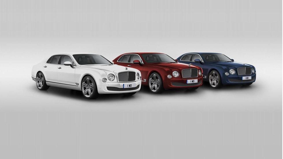 Bentley Mulsanne 95, regalo de 95 aniversario