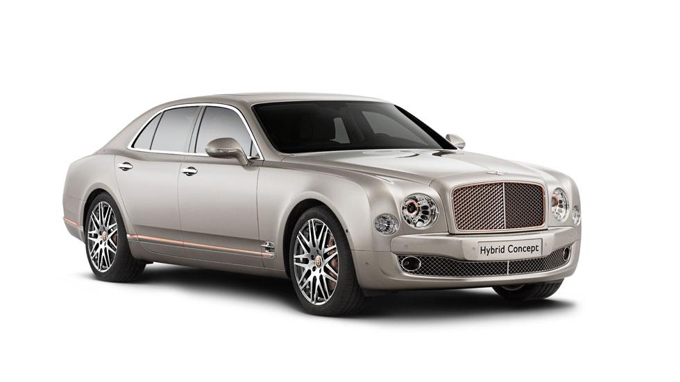Bentley Mulsanne híbrido, lujo enchufable