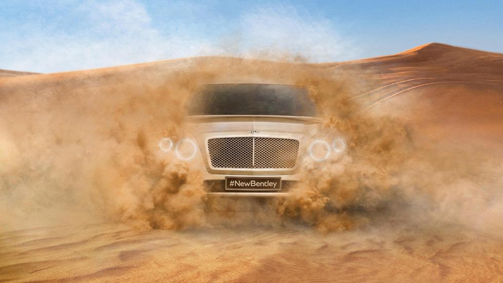 Nuevo Bentley SUV, primera foto