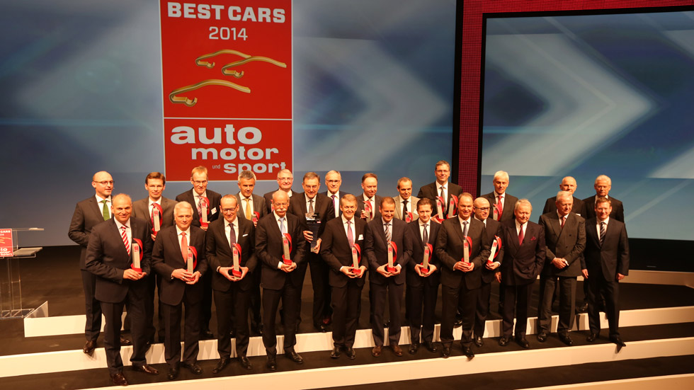 Best Cars 2014: los coches favoritos de los alemanes