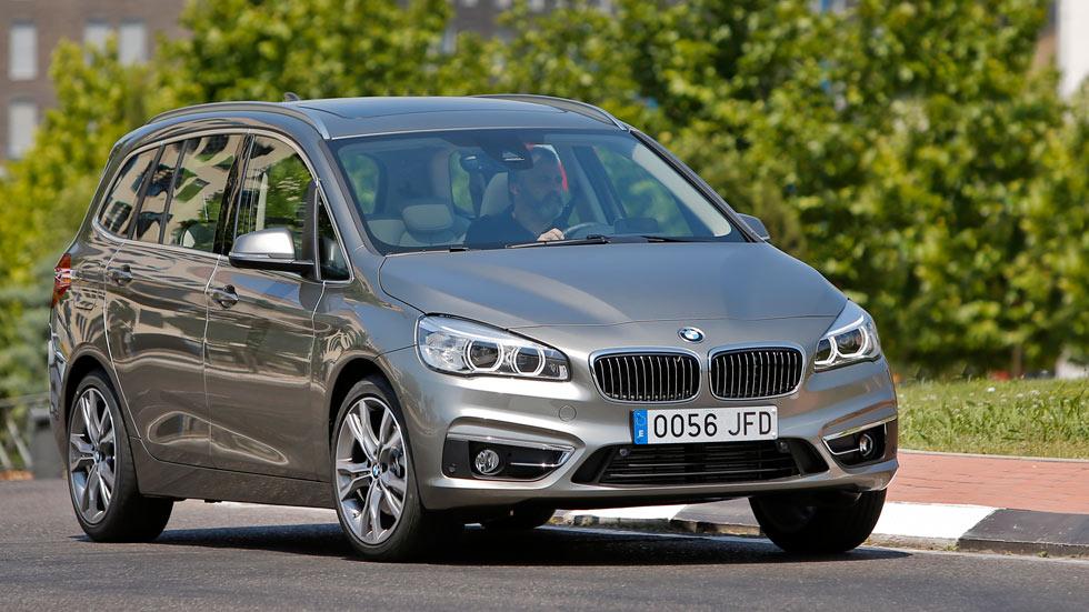 Prueba: BMW 218d Gran Tourer, los pasajeros, primero