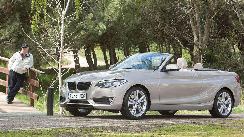 Prueba: BMW 220d Cabrio 190, el placer al descubierto