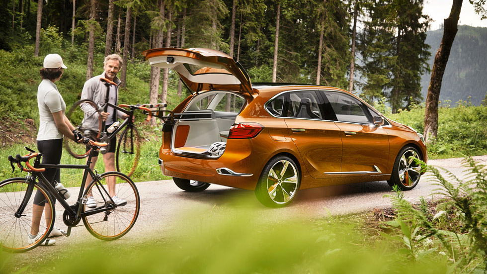 BMW Concept Active Tourer Outdoor: ¡vámonos de ruta!