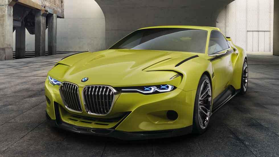 BMW 3.0 CSL Hommage Concept, homenaje con elegancia