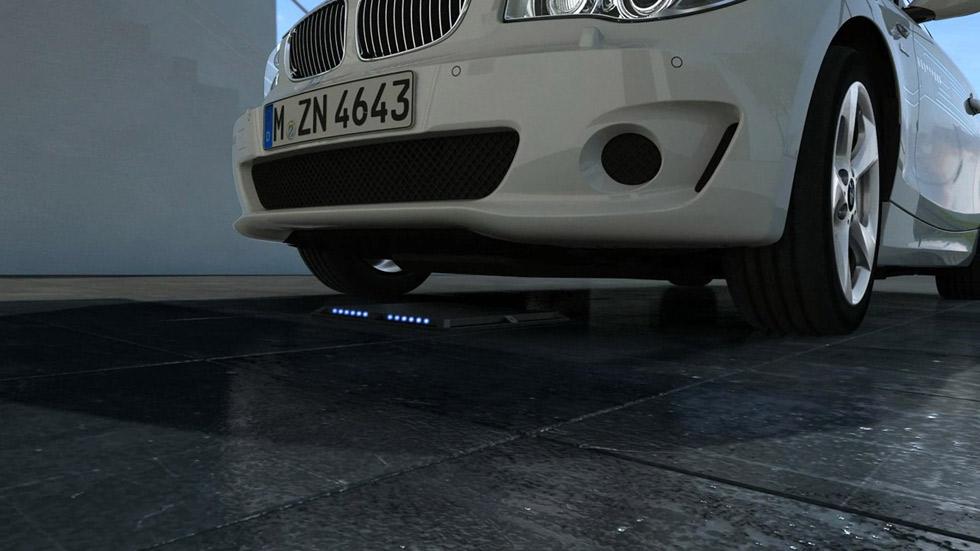 BMW y Daimler: nuevo sistema de carga por inducción para eléctricos e híbridos