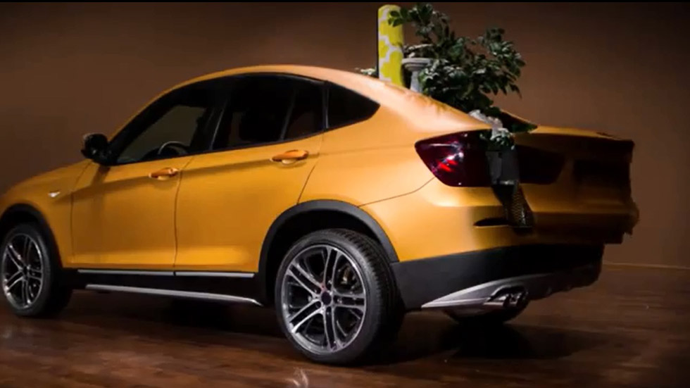 Vídeo: BMW Dubbed Deep Orange 4, ¿un X3 pick-up?