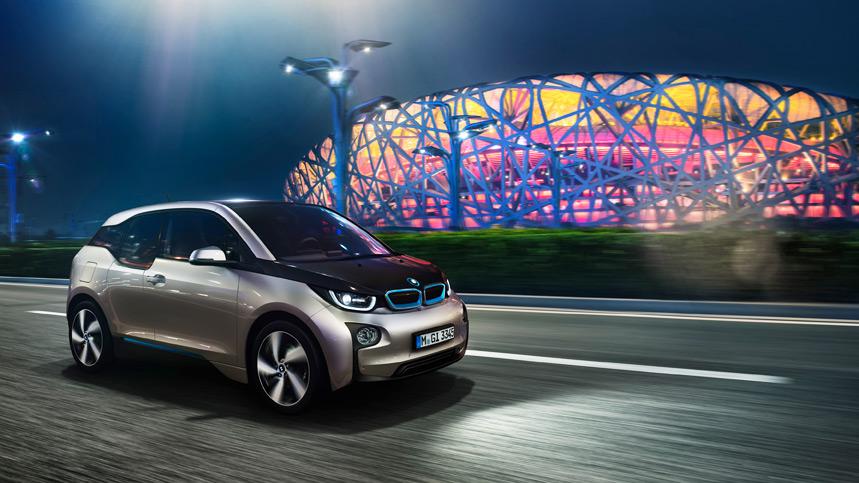 BMW y sus farolas para cargar coches eléctricos