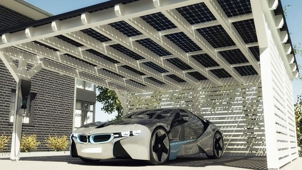 Techo Solarwatt o cómo recargar tu BMW i con energía solar