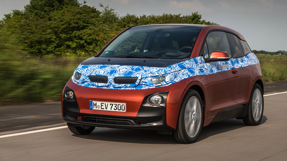 BMW i3, hasta 300 kilómetros de autonomía eléctrica