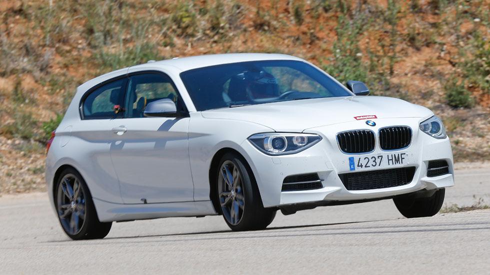 El BMW M 135i, en circuito