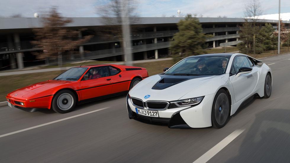 BMW M1 vs BMW i8, superdeportivos ¿antagónicos?