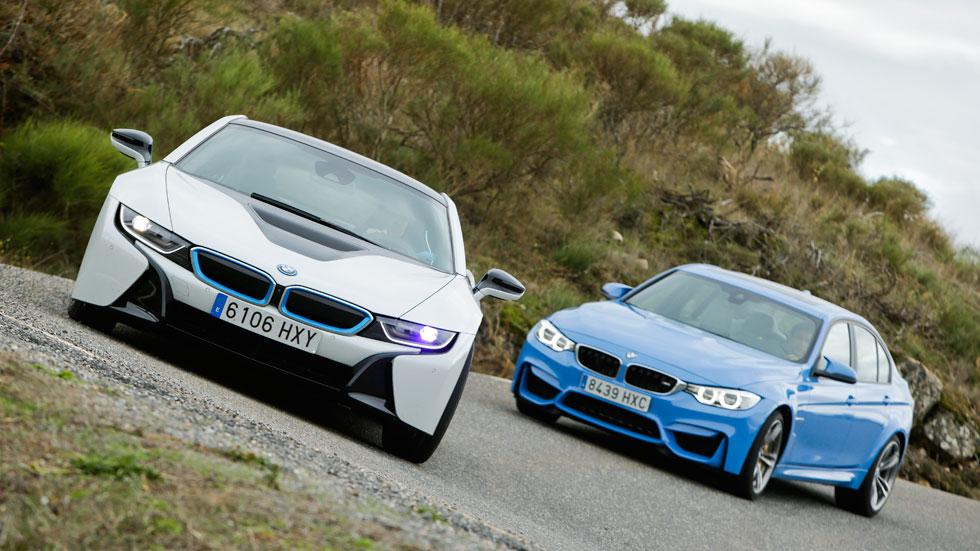 Comparativa: BMW M3 DKG vs BMW i8