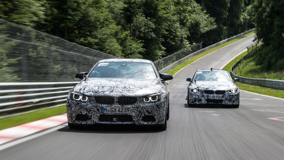 BMW M3 y M4, con motor biturbo de seis cilindros y 430 CV