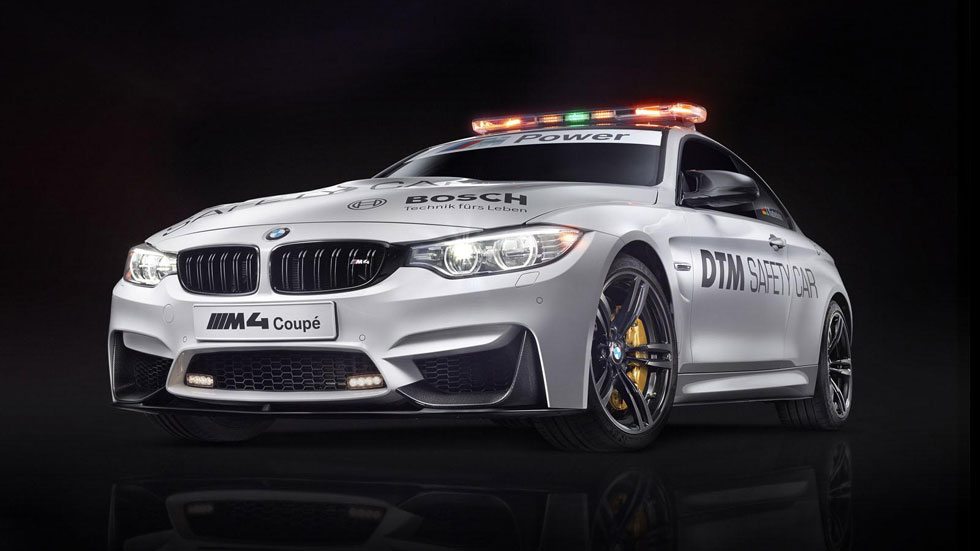 BMW M4 Coupé, también Safety Car en el DTM