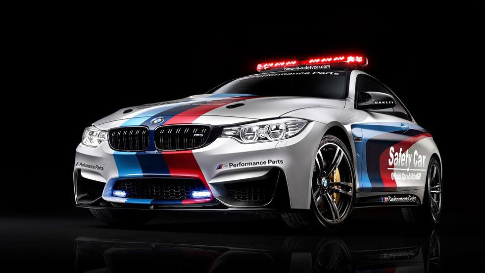 BMW M4, el nuevo 'safety car' de MotoGP