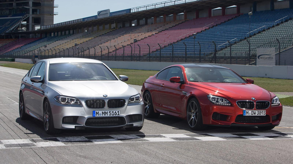 BMW M5 y M6 Competition Package, fuerza bruta a 575 CV