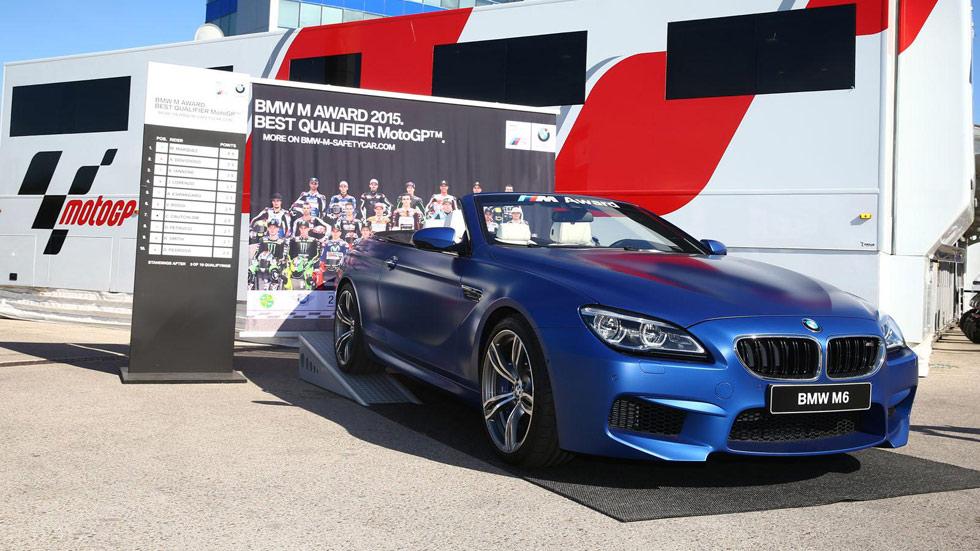 Un BMW M6 Cabrio, para el mejor piloto de MotoGP en 2015