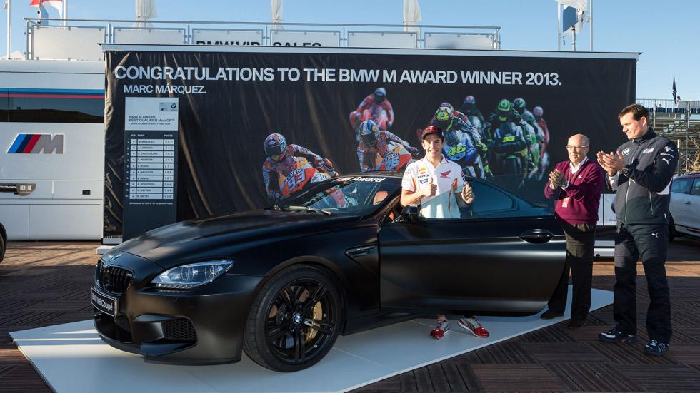 BMW regala un M6 Coupé a Marc Márquez