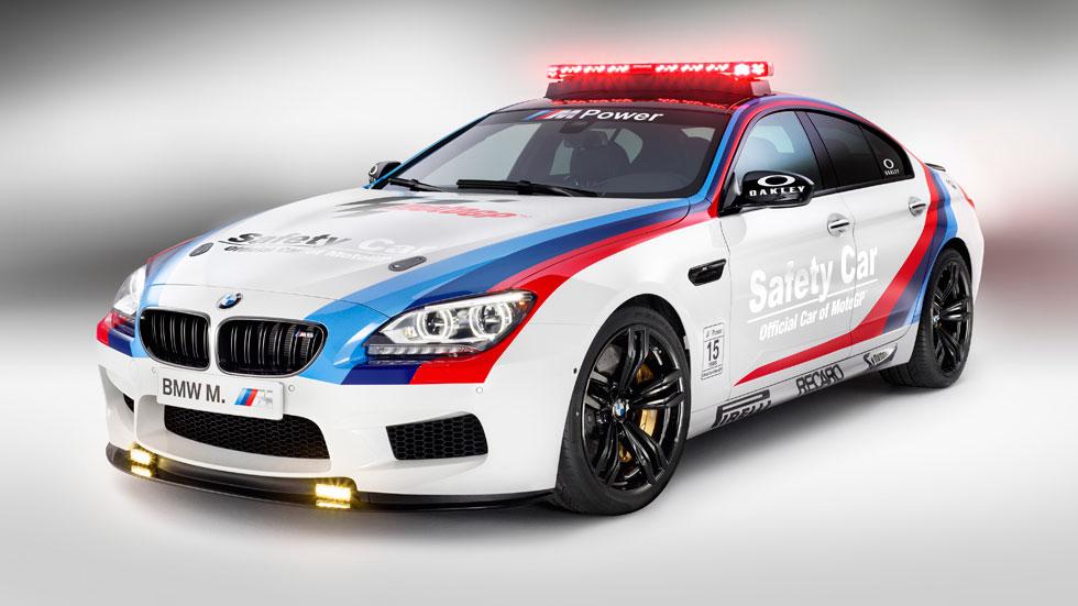 BMW M6 Gran Coupé, el nuevo saftey car de MotoGP