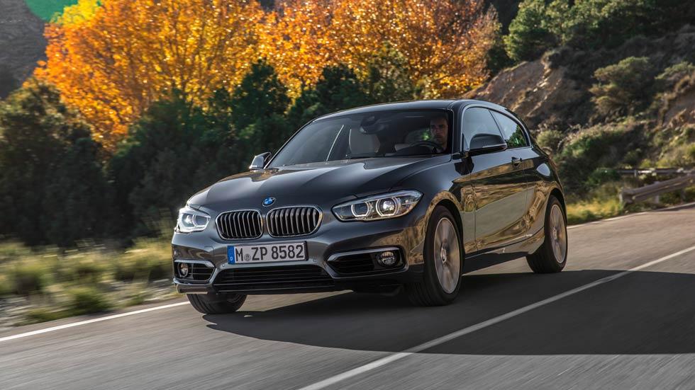 Nuevo BMW Serie 1 118i, paso al gasolina de tres cilindros