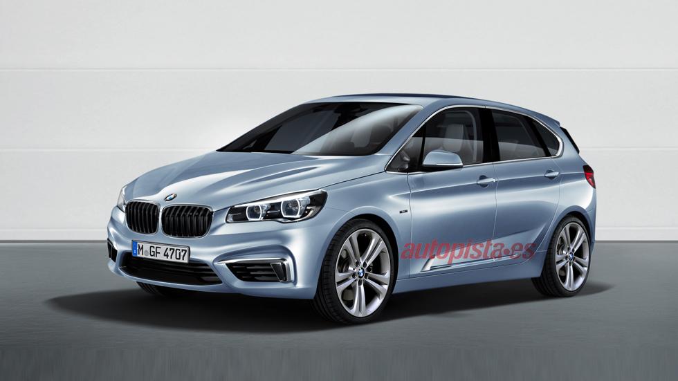 La sorpresa de BMW: ¿un Serie 1 monovolumen?