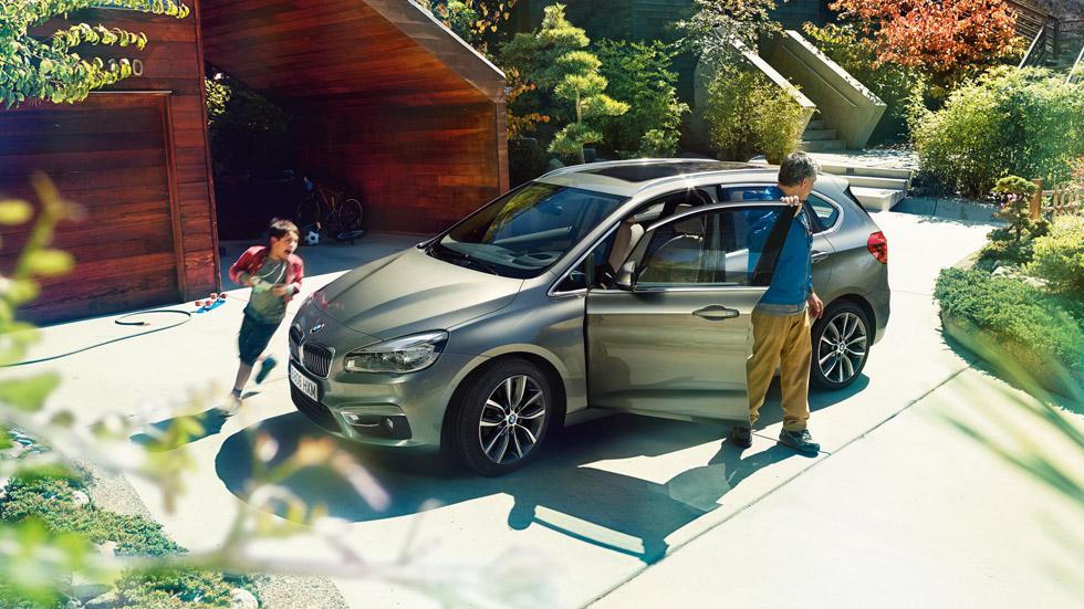 Experiencia BMW Serie 2 Active Tourer: los ganadores