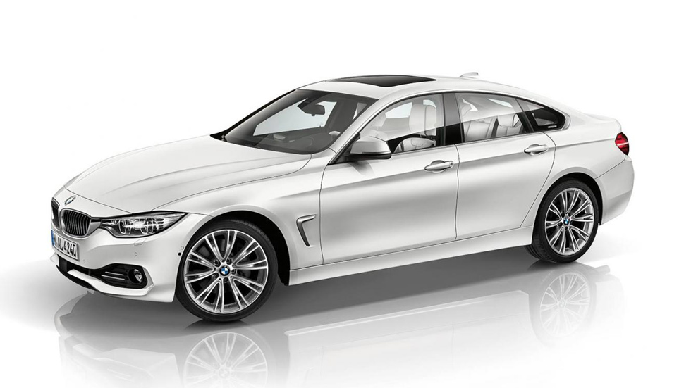 BMW Serie 4 Gran Coupé Individual, blanco y negro mix