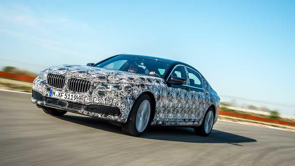 BMW 740 Li, un coche en pleno desarrollo