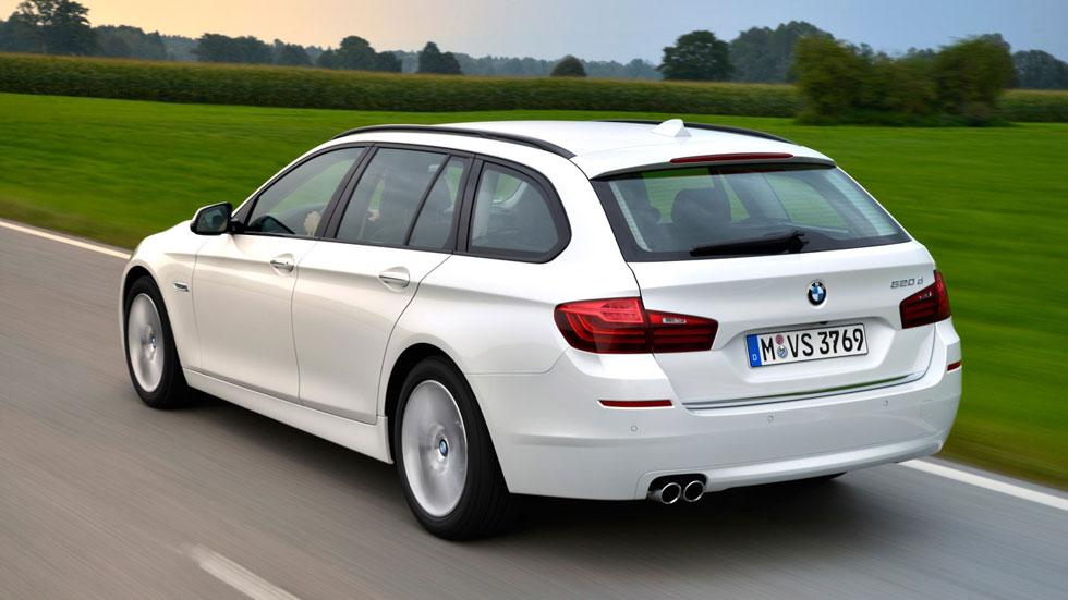 Contacto: BMW 520d Touring, versatilidad, eficiencia y dinamismo