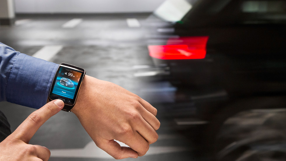 Nuevas tecnologías de BMW: aparca el coche desde tu reloj