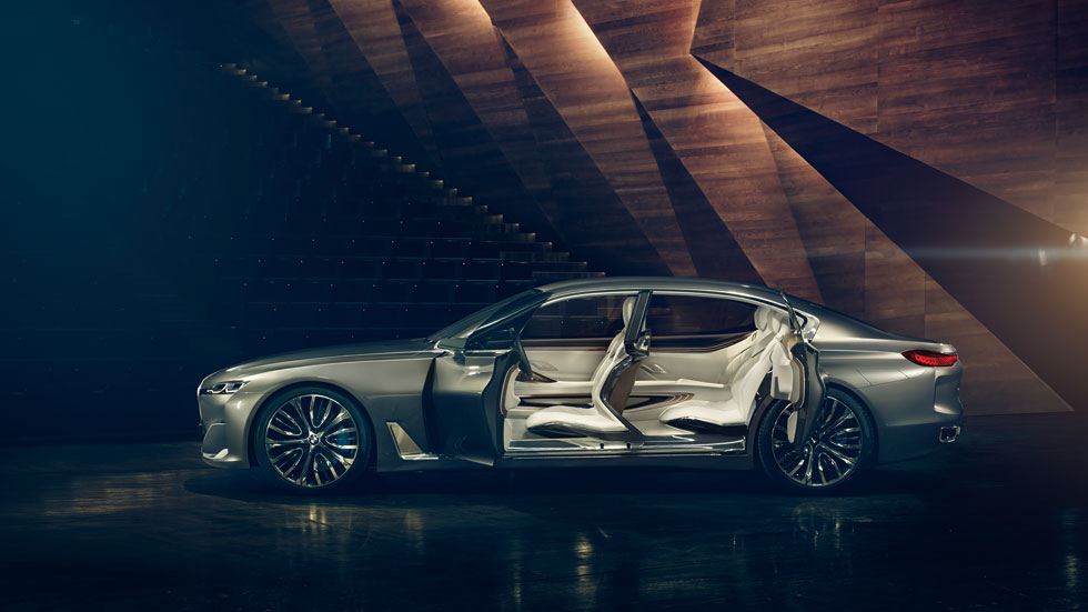 BMW Vision Future Luxury Concept, más lujoso que el Serie 7