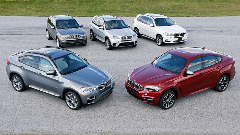 Los BMW X cumplen 15 años