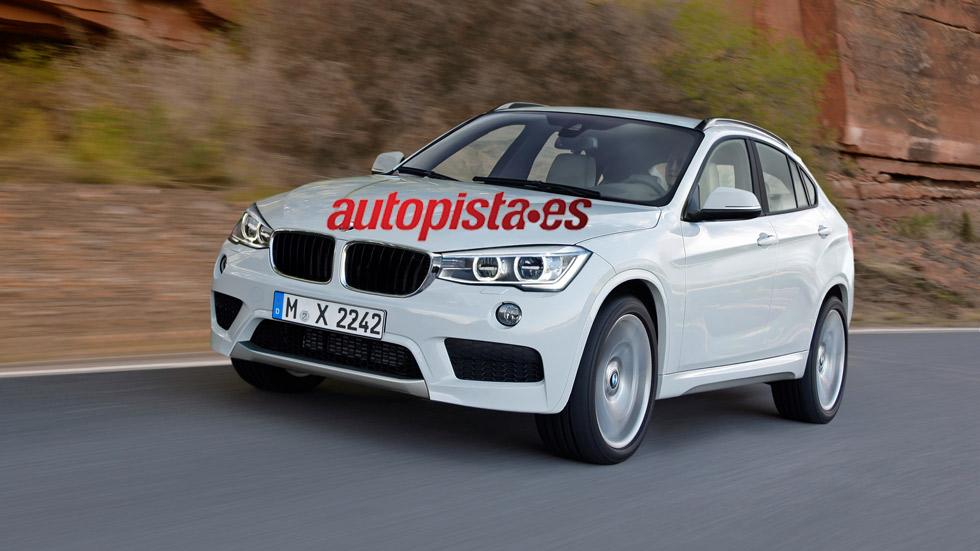 BMW X2, listo en 2017