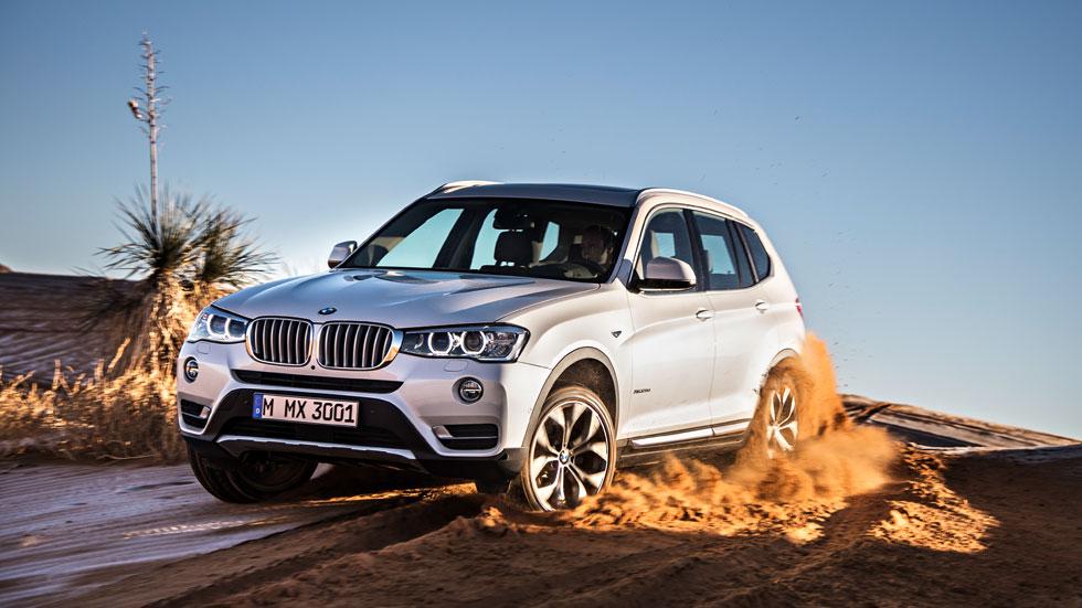 BMW X3, un restyling con más potencia y menor consumo