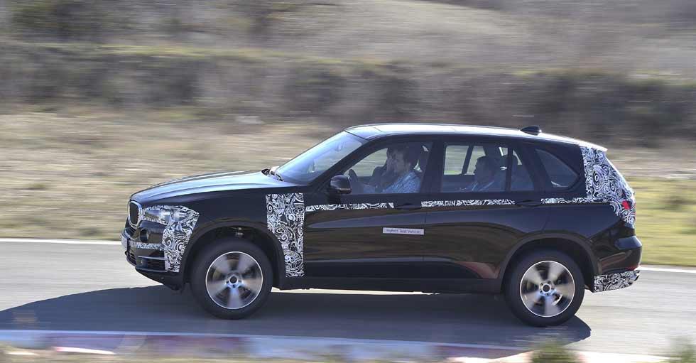 Contacto: BMW X5 eDrive