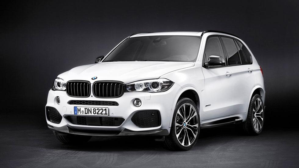 BMW X5 M Performance 2014, pinturas de guerra