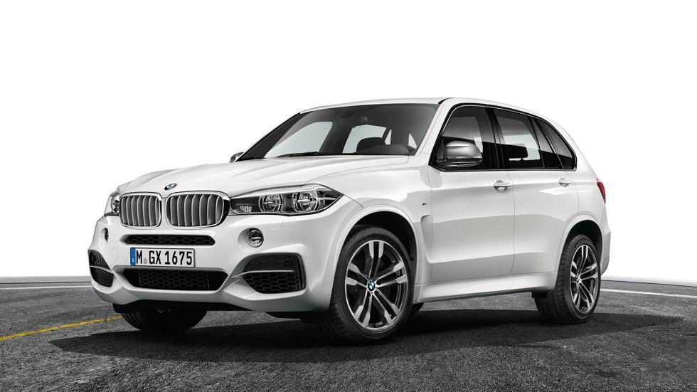 BMW X5 M50d, 381 CV de rabia Diesel