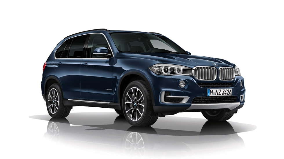 BMW Concept X5 Security Plus, el SUV blindado alemán