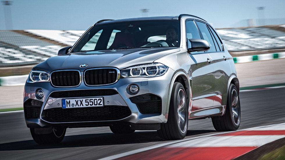 Primera prueba: BMW X5 M y X6 M, paranormales