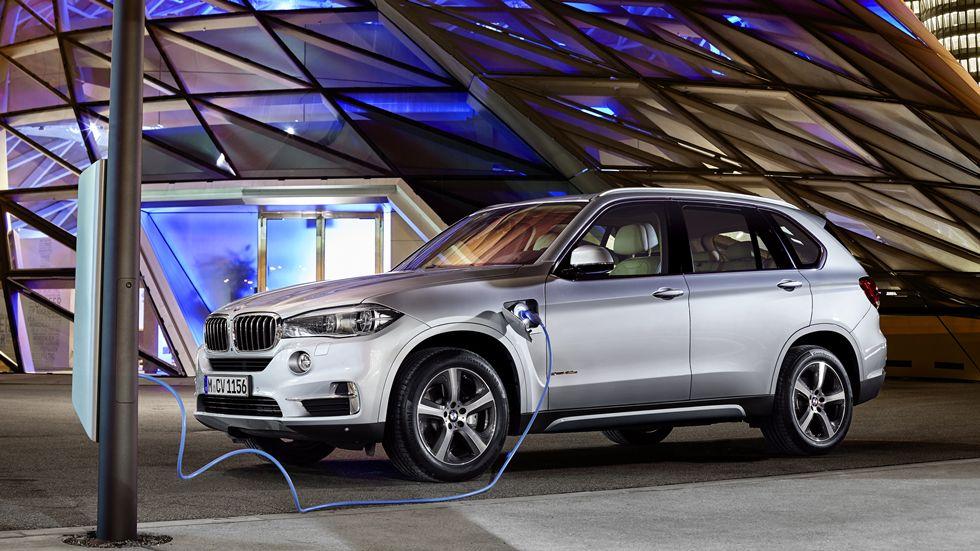 BMW X5 xDrive40e: el X5 híbrido enchufable, en otoño de 2015
