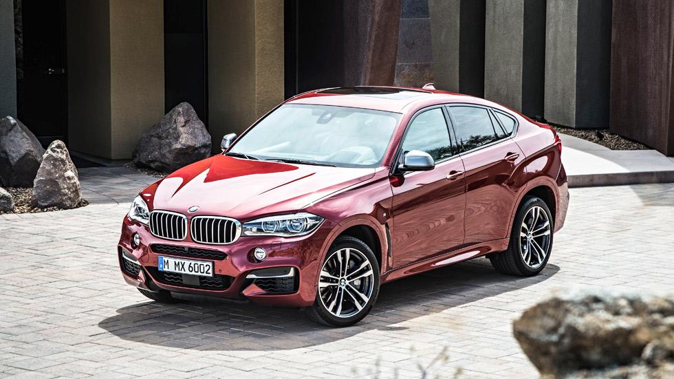 BMW X6 2015, un coche con evolución natural