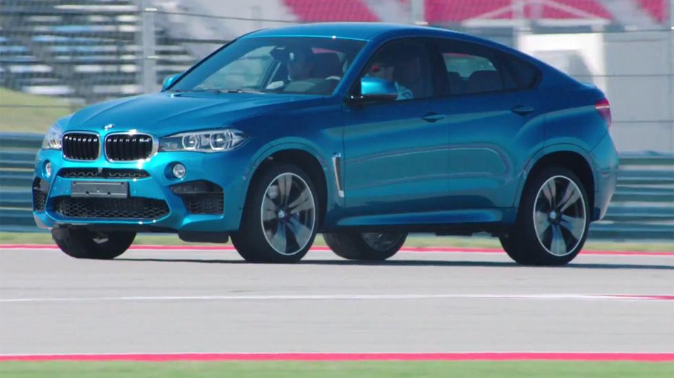 Vídeo: El BMW X6 M, a tope en circuito
