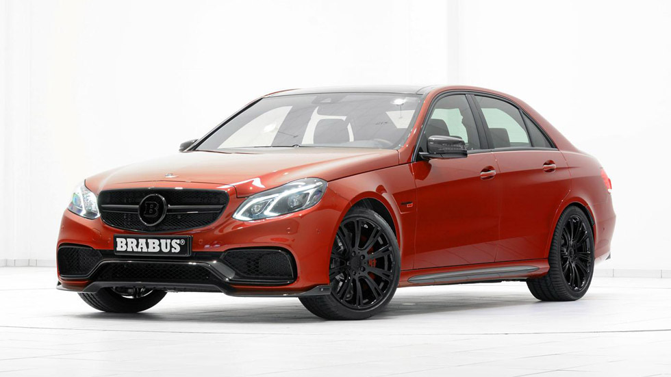Brabus 850 Biturbo 6.0, el Mercedes E63 más radical