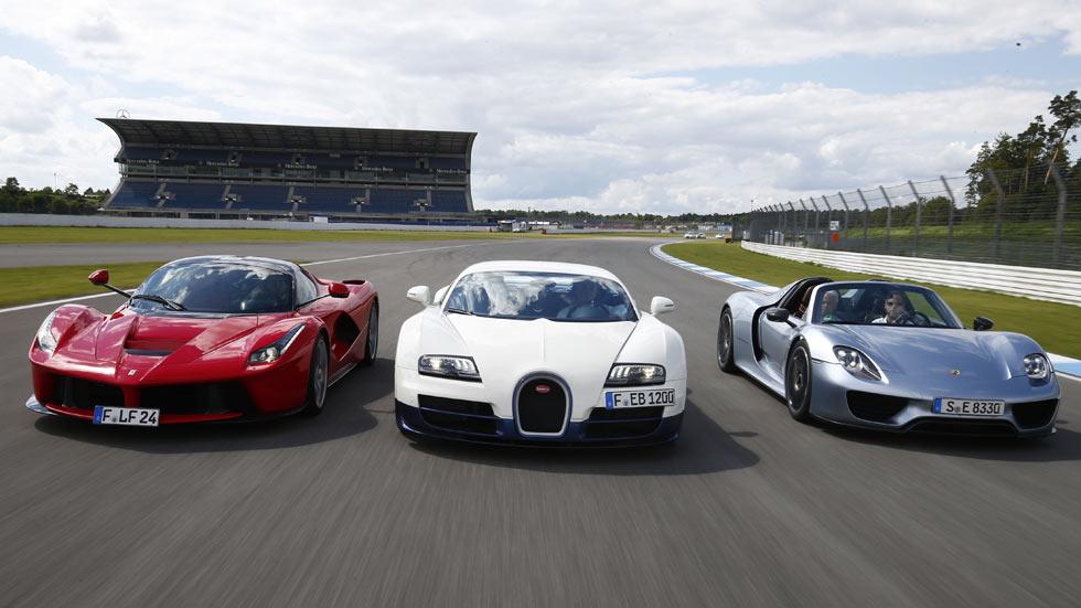Comparativa Bugatti Veyron Super Sport vs Ferrari LaFerrari