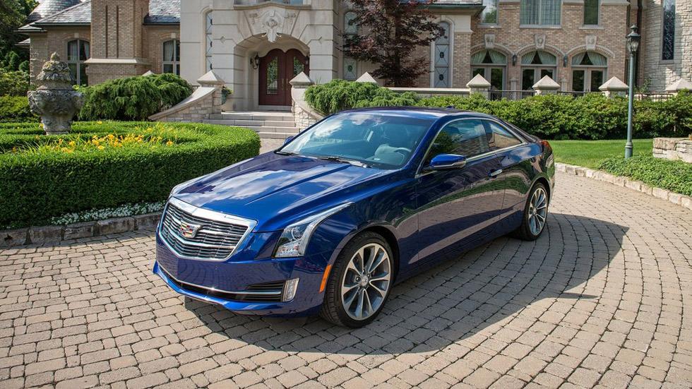 Cadillac ATS Coupé 2015, elegancia a la americana
