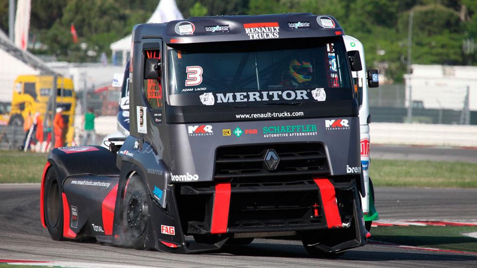 Así es un camión de carreras