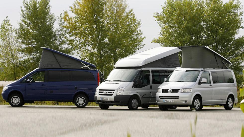 El mundo de los Camper, vehículos comerciales y de ocio